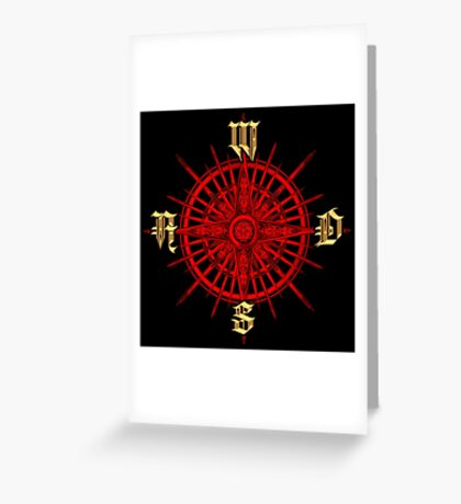 PC Gamer's Compass - Adventurer Greeting Card