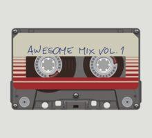 Guardians Awesome Mix Vol 1 by AkiraHawk