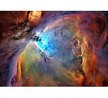 Orion Nebula Space Galaxy  Photographic Print