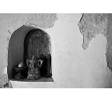 Egg / Elephant / Rail Road Spike Photographic Print