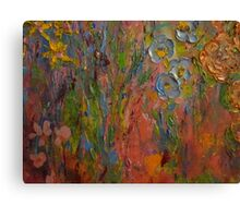 Contemporary Floral, Untitled  by Janai-Ami Canvas Print