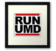 RUN UMD Framed Print