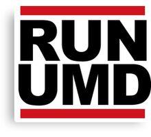 RUN UMD Canvas Print