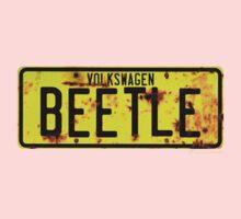 Volkswagen Beetle Number Plate Kids Clothes