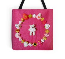 Angel Bear in Duck Blessing Circle, from above Tote Bag