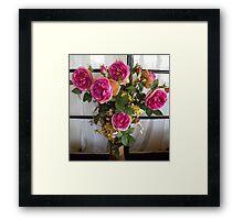 Boquet of Roses Framed Print