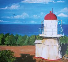 Lighthouse Cook Town, Australia by Linda Callaghan