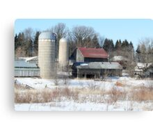 Abandoned Farmstead in Minnesota Canvas Print