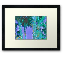 Contemporary Floral Untitled, by Janai-Ami Framed Print