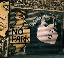 No Parking by BlackGround