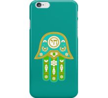 Hamsa for blessings, power and strength  iPhone Case/Skin