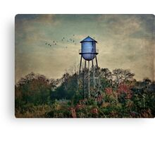 When there were no more jobs Canvas Print