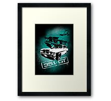 Ford Falcon XY GTHO Phase III (Grunge) © Framed Print