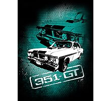 Ford Falcon XY GTHO Phase III (Grunge) Photographic Print
