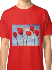 """Tulips are red, my love!""  Classic T-Shirt"