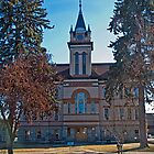 Flathead County Montana Court House by Bryan D. Spellman