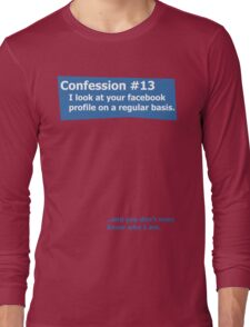 Confession #13 Long Sleeve T-Shirt