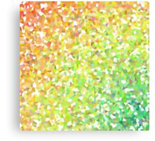 Colorful mosaic background Canvas Print