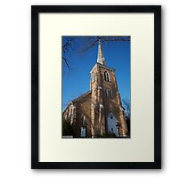 Community Church of Slingerlands Framed Print
