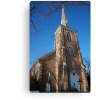 Community Church of Slingerlands Canvas Print
