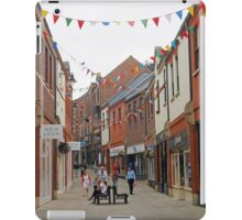 The Party's Over - Durham Street Scene iPad Case/Skin