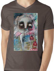 Abstract Portrait  Mens V-Neck T-Shirt