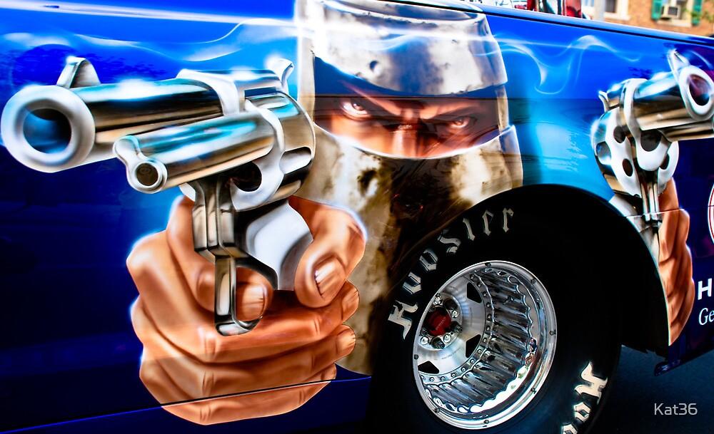 Guns Ablazing! by Kat36