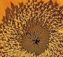 Artsy Sunflower Sticker