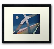 Go Back...you are going the wrong way! Framed Print