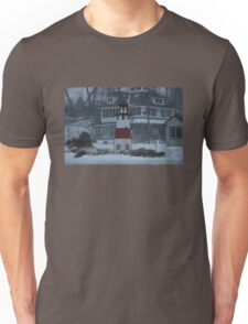 Snowy Afternoon at the Bluff Unisex T-Shirt