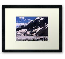 Columbian Icefields Framed Print