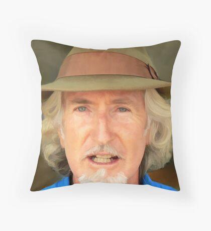 Silversmith Hat Throw Pillow