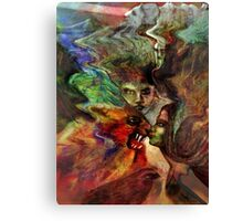 Kissing the Beast Canvas Print