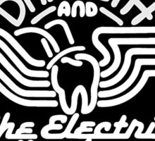 Dr.Teeth and the Electric Mayhem - Black & White Sticker