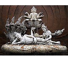 Thai Sculptures Photographic Print