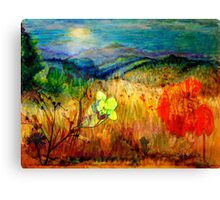 At the Edge of Dreaming Fields Canvas Print