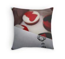 Gautier Cakes: Peek. Throw Pillow