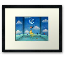 Like a fish out of water  Framed Print