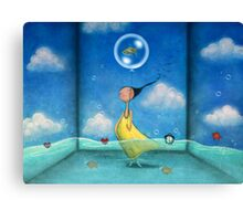 Like a fish out of water  Canvas Print