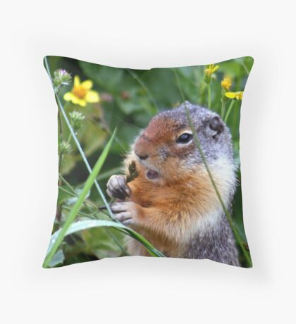 Even The Seeds Taste Good Throw Pillow