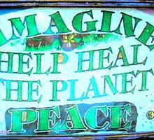 Heal the World~Peace by rod mckenzie