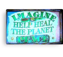 Heal the World~Peace Canvas Print