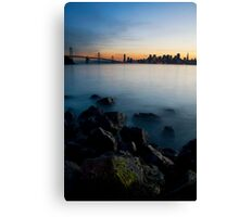 An Island's View Canvas Print