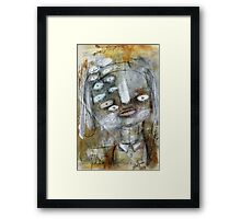 Abstract Portrait Framed Print