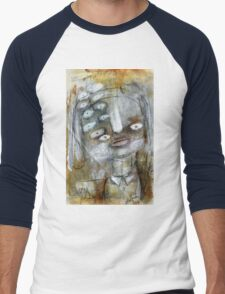 Abstract Portrait Men's Baseball ¾ T-Shirt