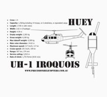 "Iroquois ""Huey"" Helicopter by PrecisionHeli"