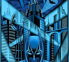 Guardian of Gotham by Magmata