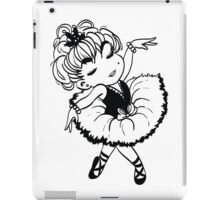 Cute Little Ballerina iPad Case/Skin