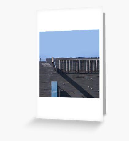 hindley street facade Greeting Card