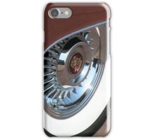 White Wall tyre glamour  iPhone Case/Skin